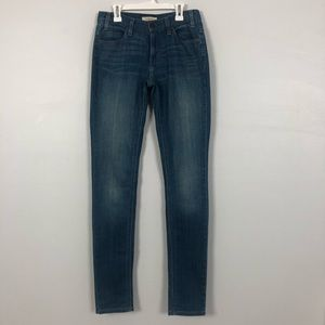 Levis Jeans   1966 Skinny   Stretch   Size 2M / 26